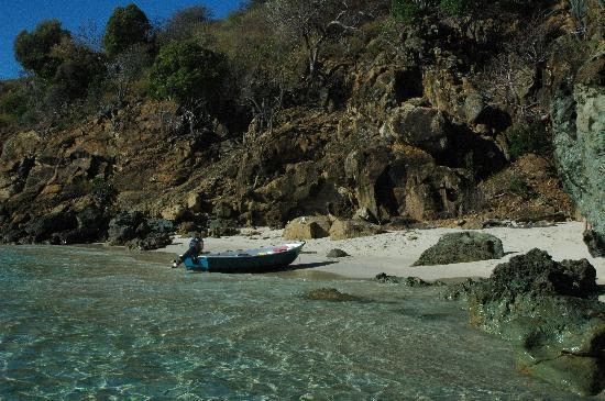Верджин-Горда: The smallest and best beach in BVI