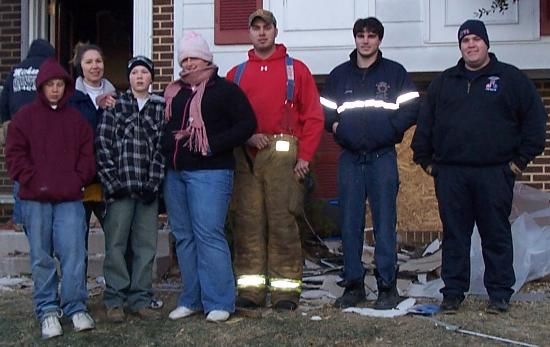 Homewood Suites Dulles - North / Loudoun, VA: Some of the firemen heroes at our house