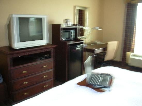 Hampton Inn & Suites Sacramento Airport Natomas: Room amenities