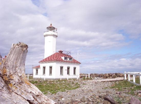 Port Townsend, : Fort Worden lighthouse