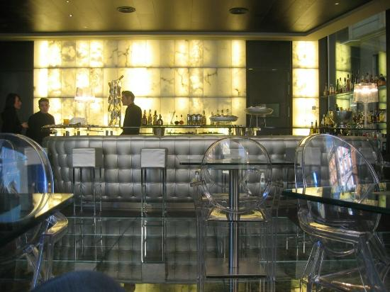 Glass Bar Picture Of Urban Hotel Madrid Madrid