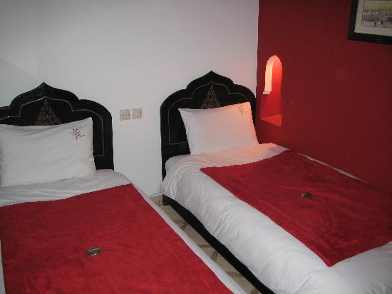 Riad Boussa: double room
