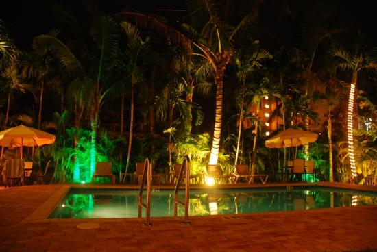 Garden At Night Picture Of Cocobelle Resort Fort