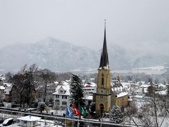 The village of Bad Ragaz