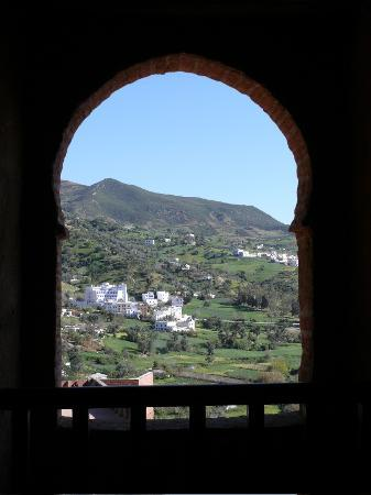 Chefchaouen, Maroko: View from the Kasbah