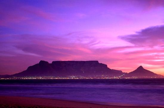 Cape Town Central, Afrika Selatan: Table Mountain