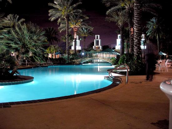 Moody Gardens Hotel Spa &amp; Convention Center: Pool at Moody Gardens Hotel