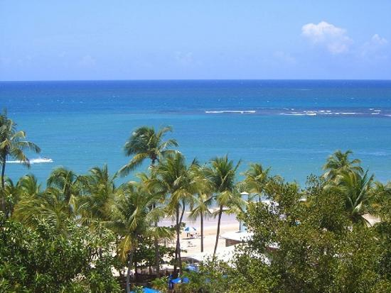 Isla Verde, Puerto Rico: Another view from the 8th floor balcony