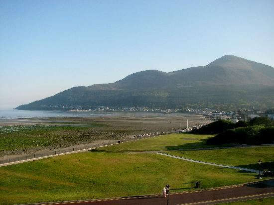 Slieve Donard Resort and Spa: View from Room