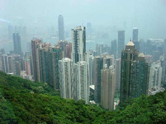 Hongkong, China: From Victoria&#39;s Peak