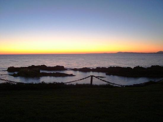 Club Hotel Casapueblo: This is the sunset you get there!!!