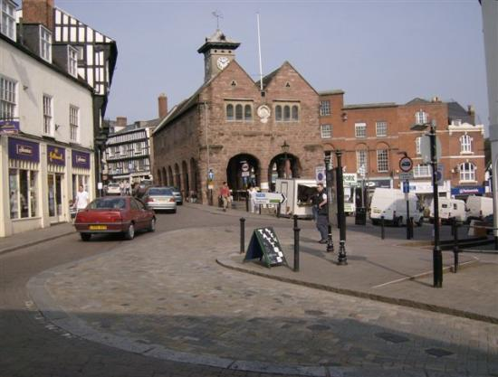 The Chase Hotel: Ross on Wye town centre