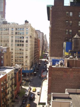View along street from balcony picture of abode bed and for New york balcony view