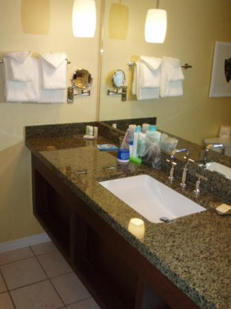 New granite bathroom