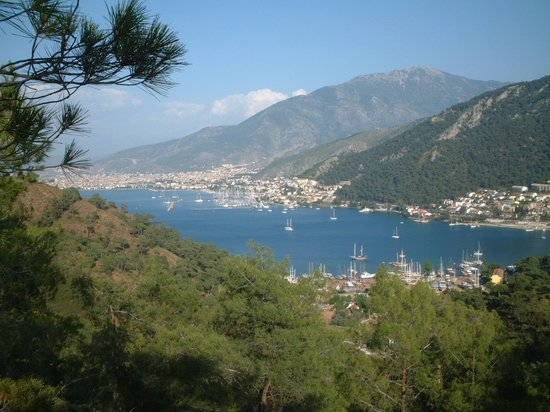 Fethiye Bay over looking Karagozlar