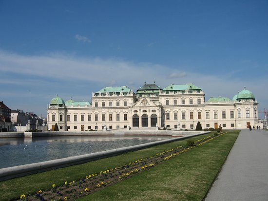 Viena, Austria: Belvedere Palace