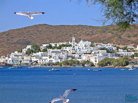 Adamas - View from Papikinou beach