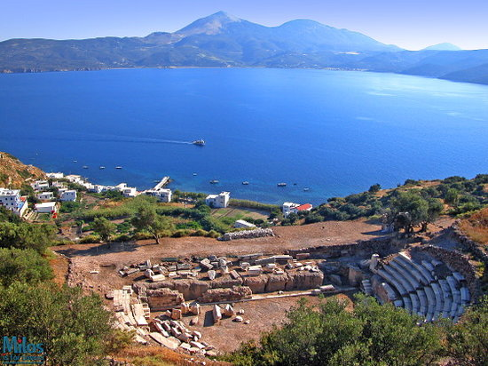 Adamas, Greece: Milos - Ancient Marble Theater