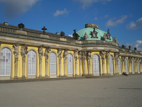 Potsdam, Tyskland: Outside of Sansouci