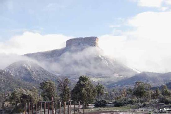 A&amp;A Mesa Verde  RV Park-Campground-Cabins: Mesa Verde - Spring snow