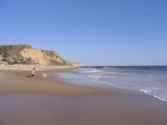 Newport Beach, Kaliforniya: The beach at Crystal Cove State Park