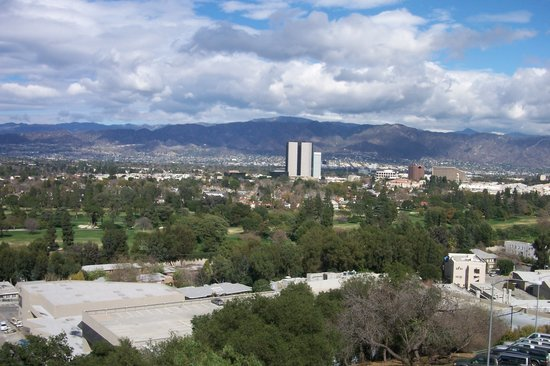 Los Angeles, CA: View of LA from Universal Studios