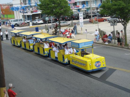 Brittany Motel: watch the tramcar please!!