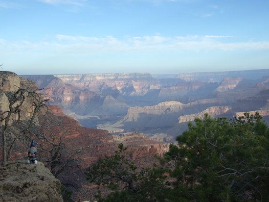 Grand Canyon National Park, AZ: Morning at the Canyon