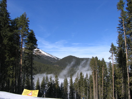 Bansko, Bulgaria: the fog