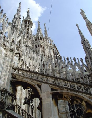 Milan, Italy: Top of il Duomo