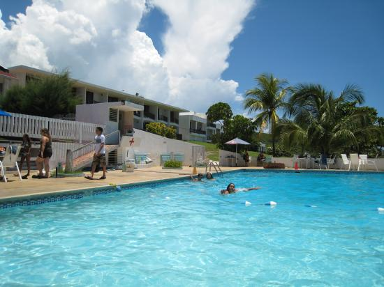Parador El Guajataca: big pool