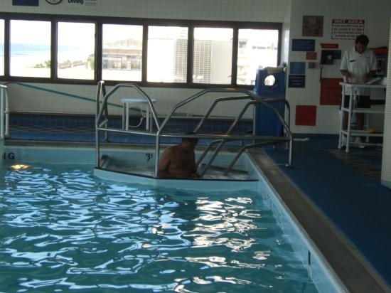 Indoor pool and whirlpool picture of tropicana casino - Tropicana atlantic city swimming pool ...