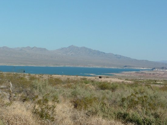 View from northshore road picture of lake mead national for Fishing lake mead from shore
