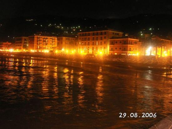 Laigueglia, Wochy: notte