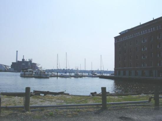 Inn at Henderson's Wharf: another view from the inn
