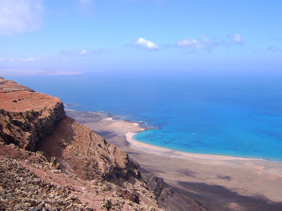 Lanzarote, Espagne : View from Mirador del Rio 
