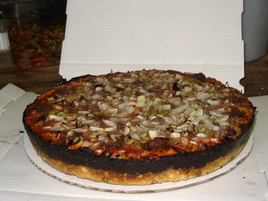 Pequods Pizza Chicago Lincoln Park Menu Prices