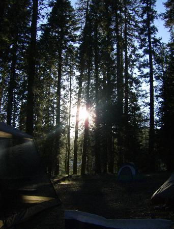 Stony Creek Campground: Sunset at our site