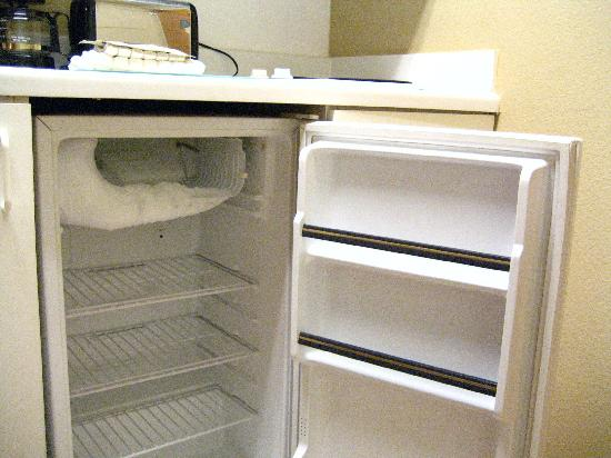 Extended Stay America - Austin - Round Rock - North: Empty minibar