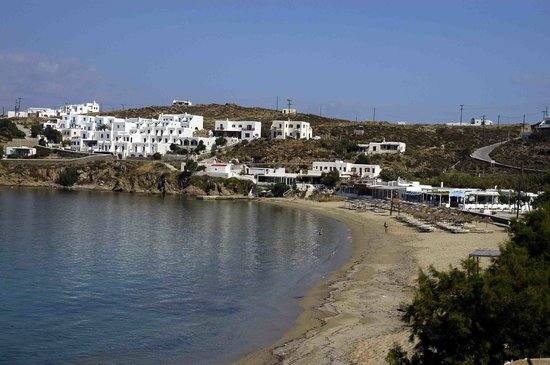 Mykonos, Greece: Ag. Stefanos beach