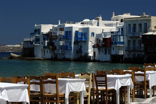 Mykonos, Yunanistan: Alefkandra (Little Venice)