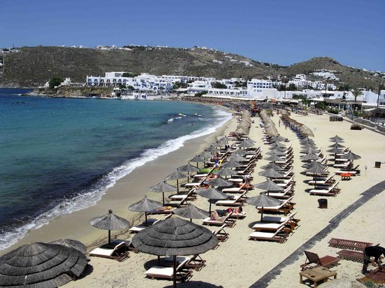 Mkonos, Grecia: Plati Yialos