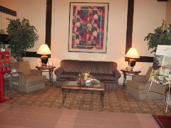 Comfort Suites Martinsburg: Lobby at Comfort Suites