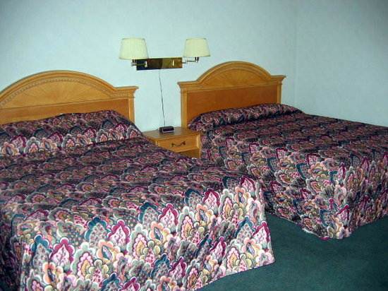 White Rose Motel: Room with 2 queen beds: very clean