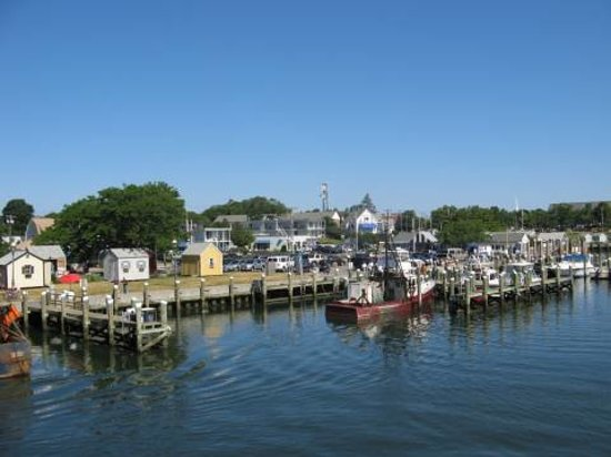 Martha's Vineyard, MA: Harbour view