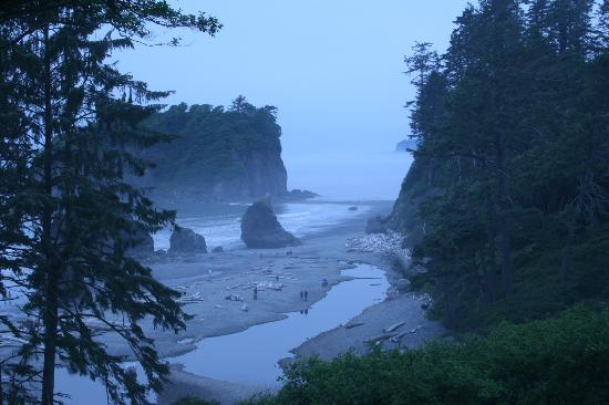 Kalaloch Campground: Ruby Beach