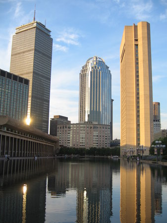 Boston, MA: Christian Science Plaza, July 2007