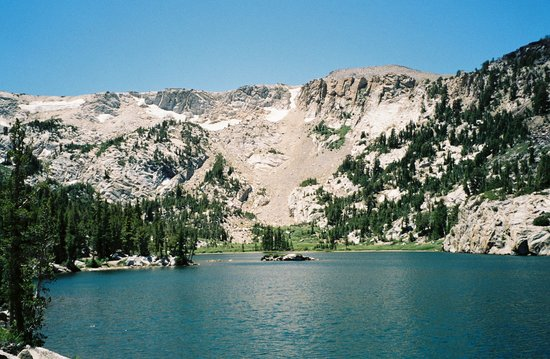 Mammoth Lakes, Californie : Crystal Lake 