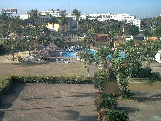 Hotel Santo Domingo: view from our room