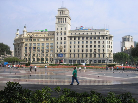 Convenient for tourists - Review of Catalunya Square, Barcelona,